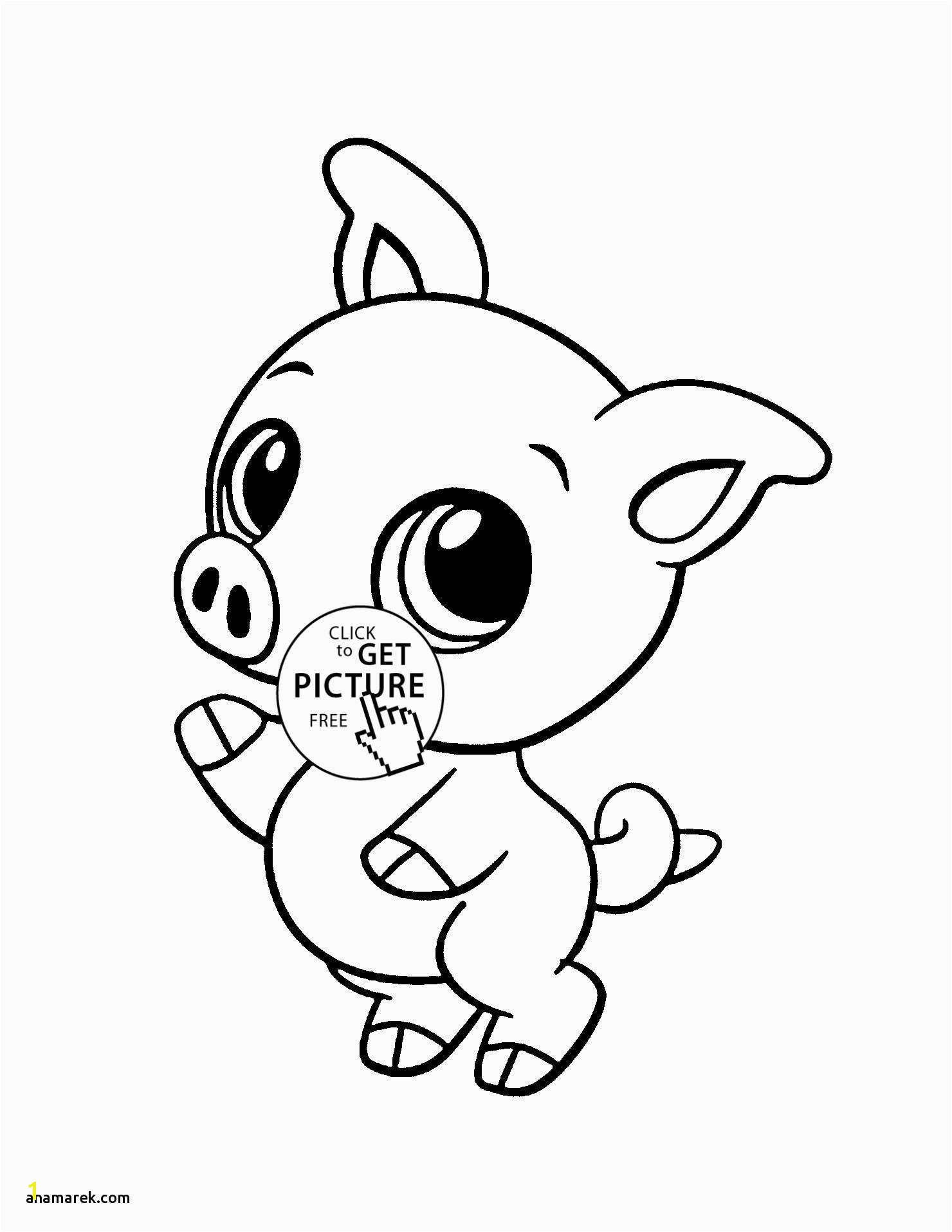 Baby Animal Coloring Pages Cute Animal Coloring Pages for Girls Download