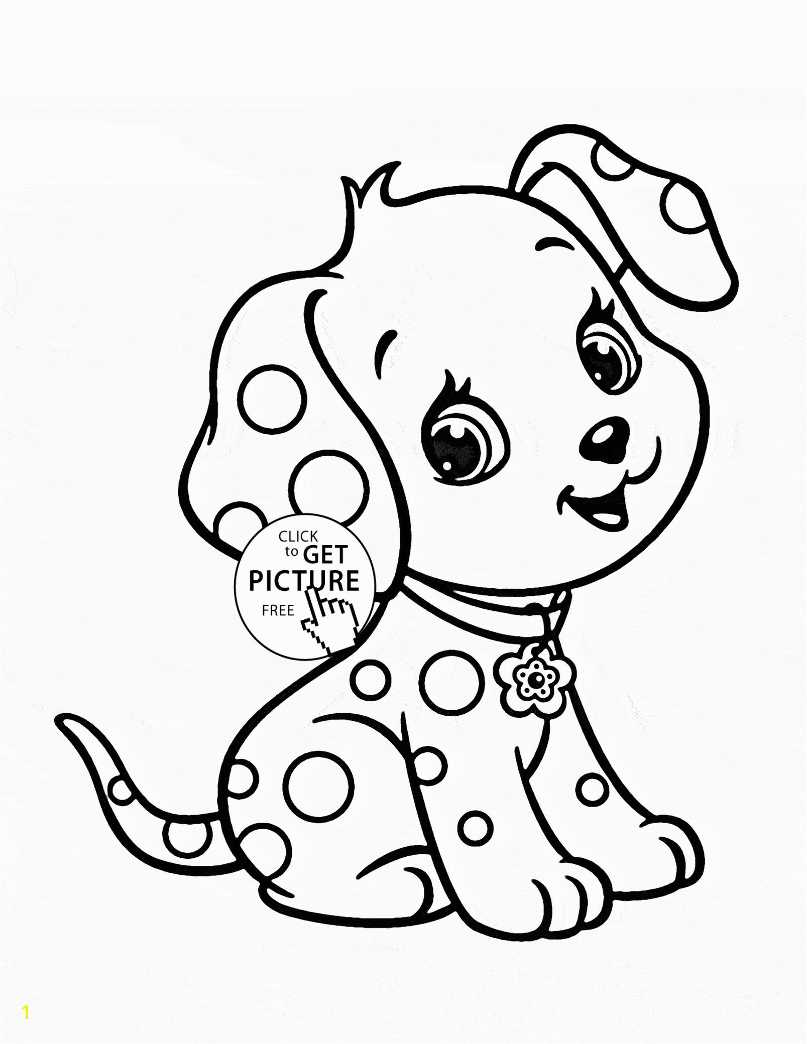 Cute Dog Coloring Pages Luxury Baby Animal Coloring Pages Beautiful Cartoon Puppy Coloring Page for