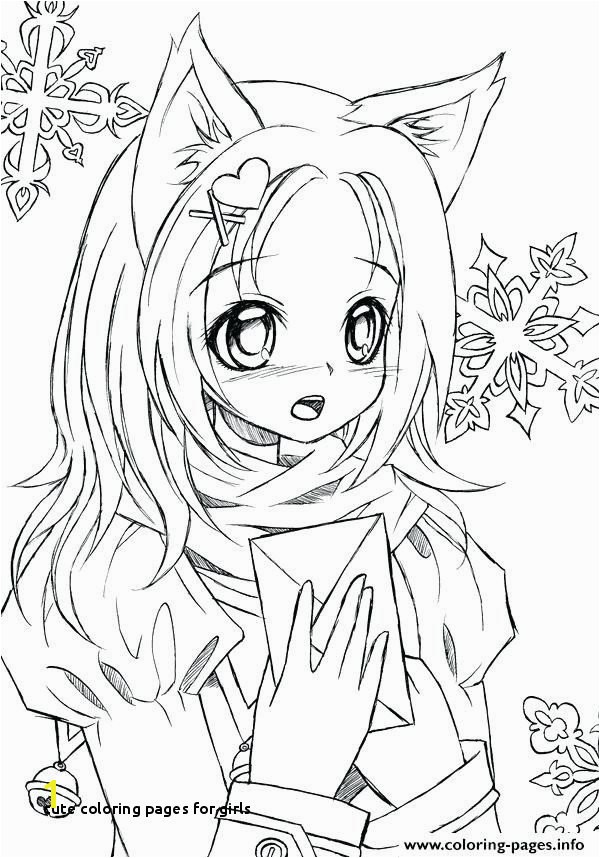 26 Cute Coloring Pages for Girls