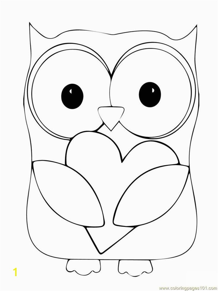 Cute Owl Coloring Pages 1105 Best Coloring Pages Pinterest