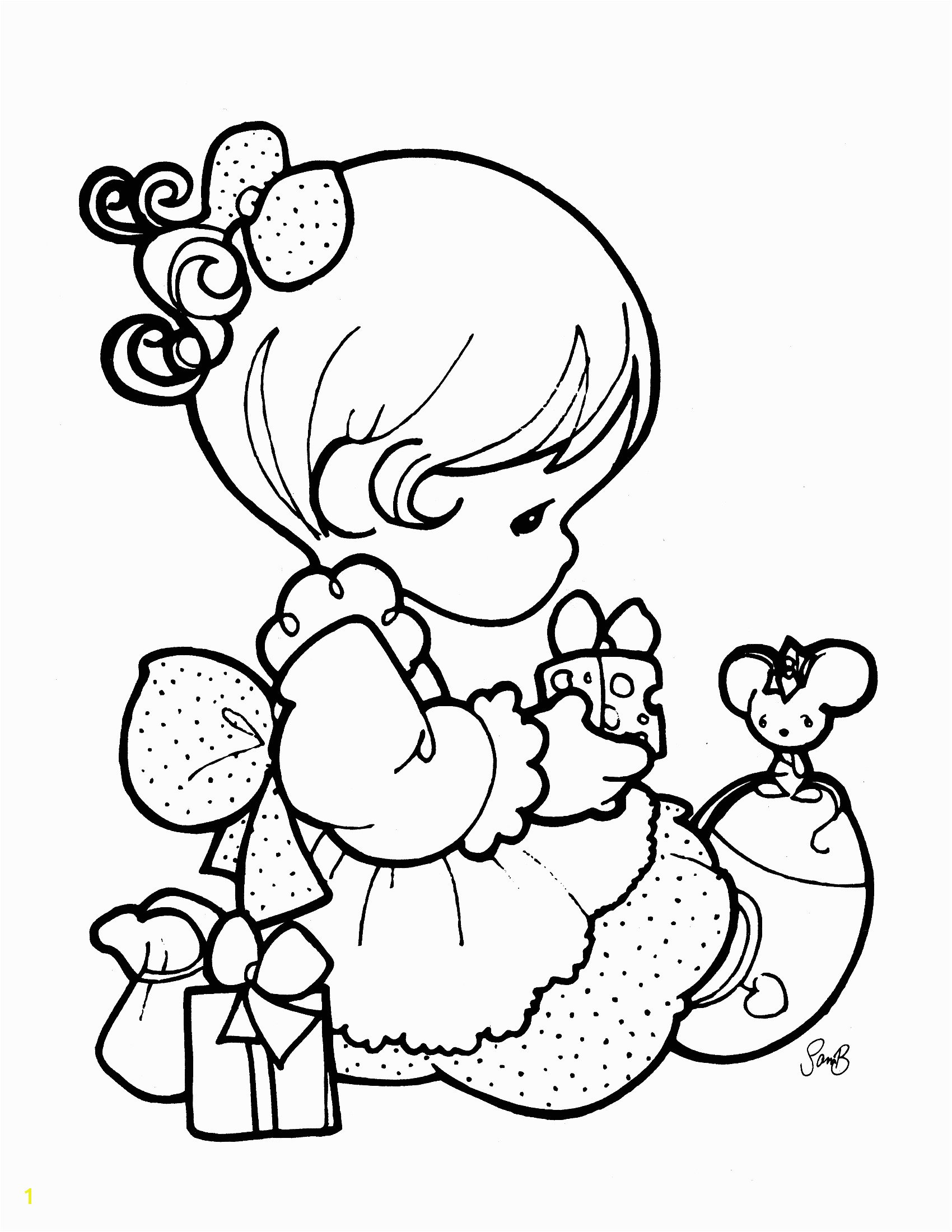Cute Precious Moments Coloring Pages Cute Coloring Pages for Girls Printable Kids Colouring Girl Sheets