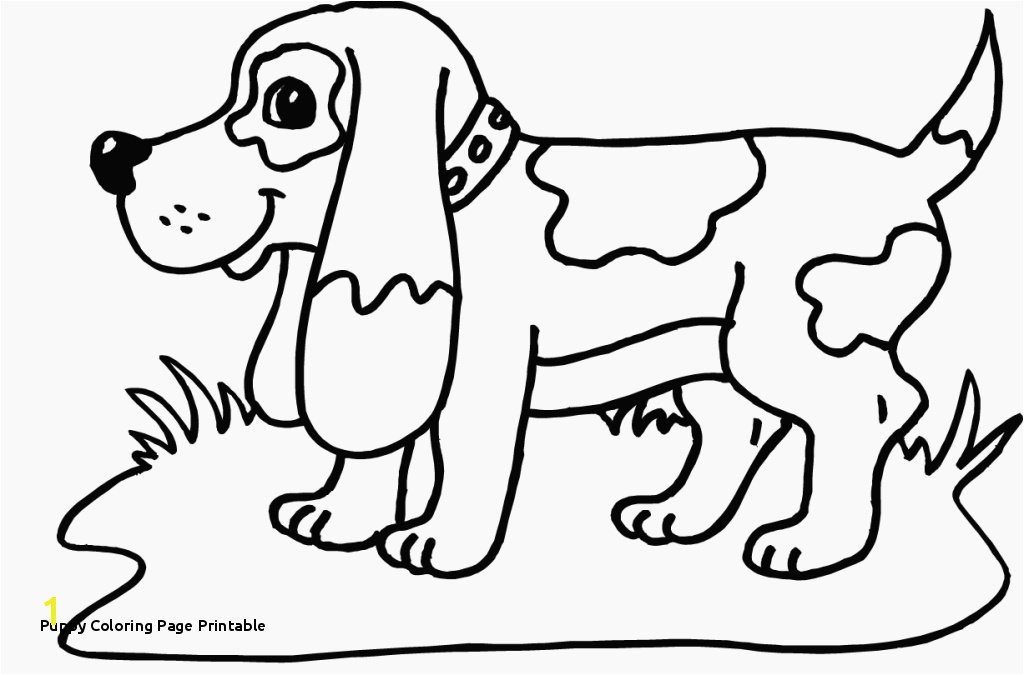 Cute Puppy Coloring Pages for Free Puppy Coloring Page Printable Awesome Printable Od Dog Coloring