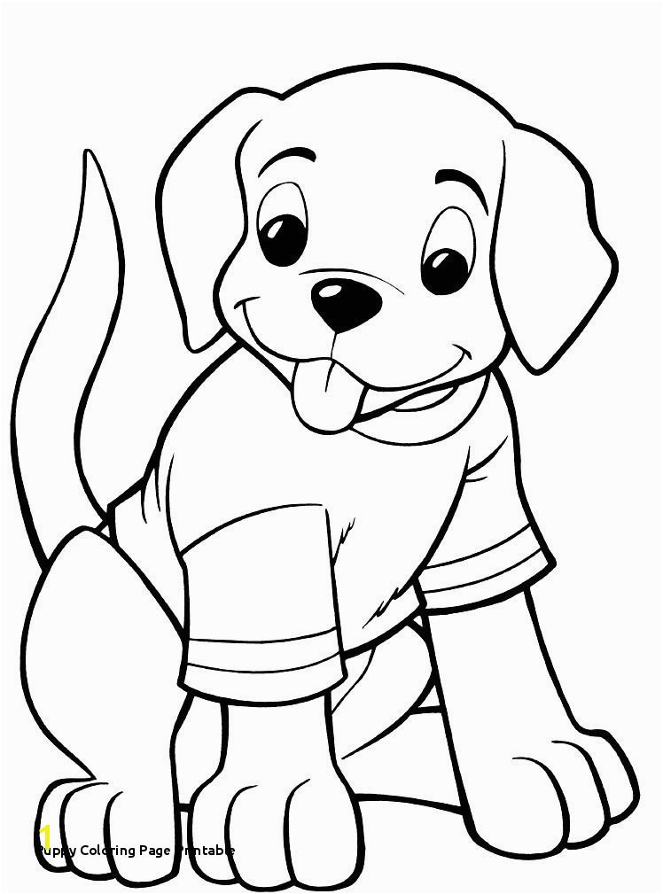 Puppy Coloring Page Printable Real Puppy Coloring Pages Fresh Printable Od Dog Coloring Pages Free