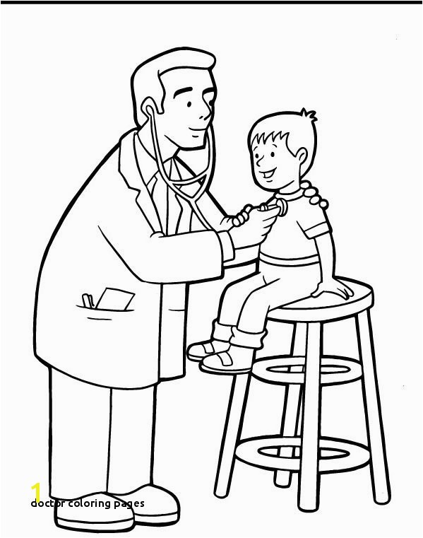 22 Doctor Coloring Pages