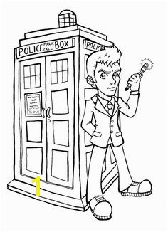 7 Pretty Awesome Doctor Who Coloring Pages Coloring Pages