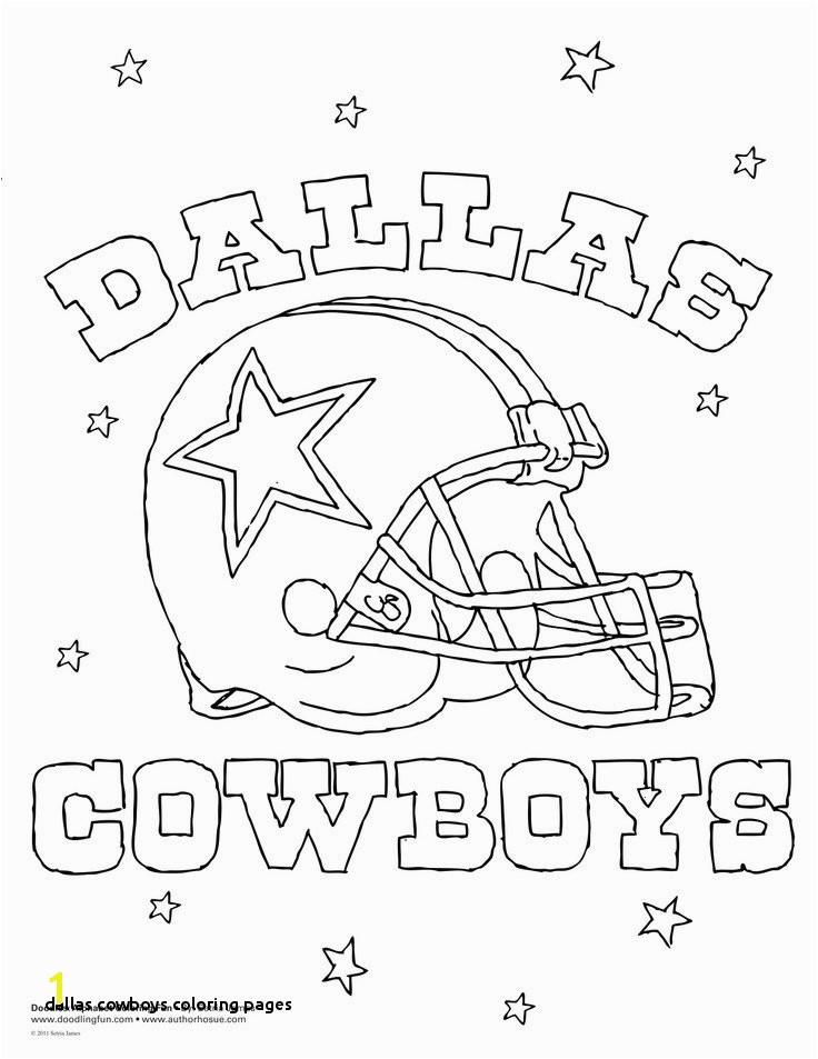 30 Dallas Cowboys Coloring Pages
