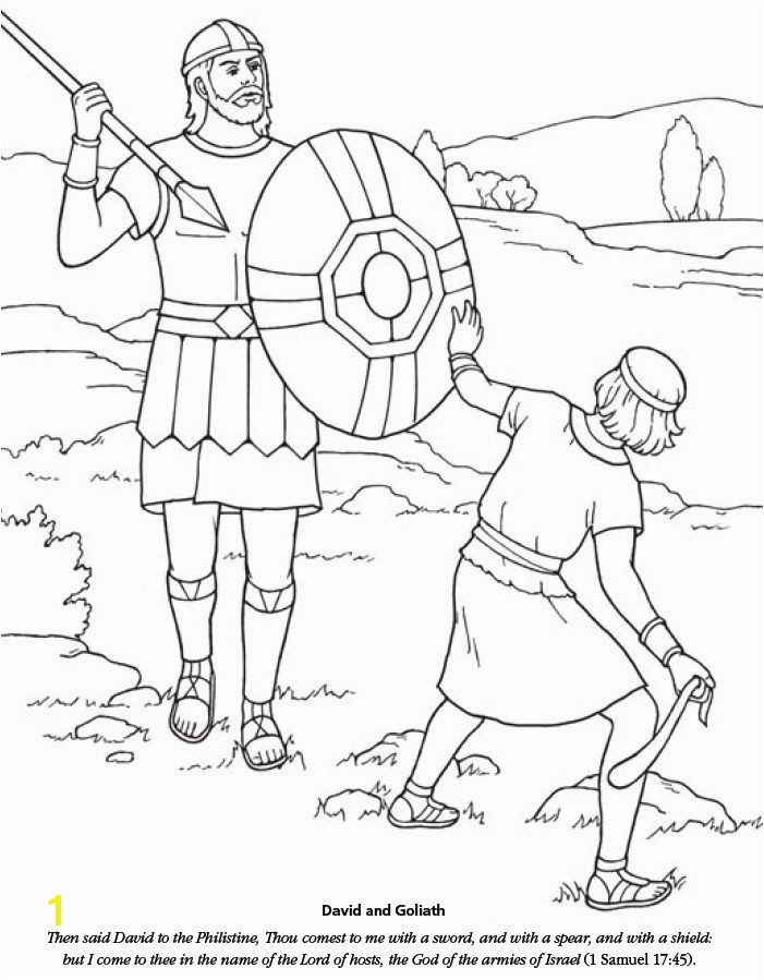 LDS Games Color Time David and Goliath