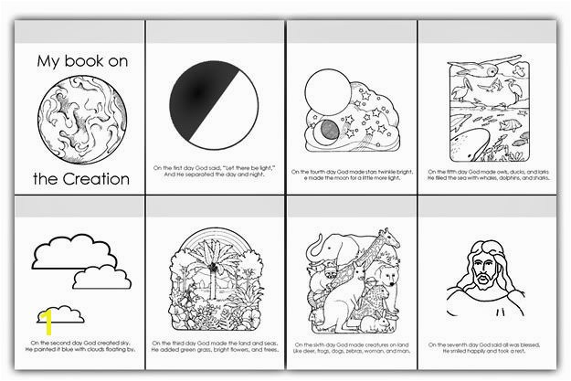 Day 6 Creation Coloring Page Days Creation Coloring Pages Luxury 6 Days Creation