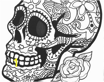 Day the Dead Skeleton Coloring Pages Inspirational Art therapy Coloring Pages Coloring Pages Day