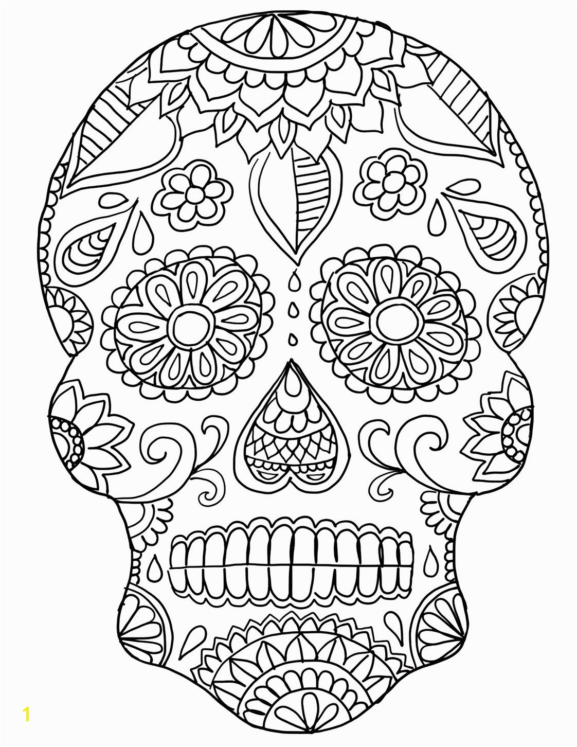 Day the Dead Skeleton Coloring Pages Best Da De Los Muertos Day the