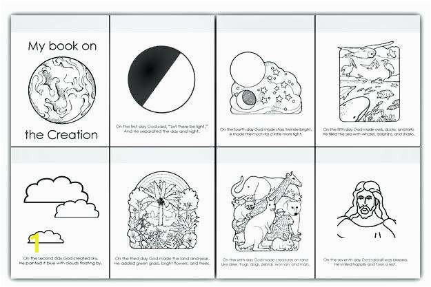 Days Creation Coloring Pages Fresh Days Creation Coloring Pages – Sheemcity