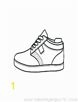 shoes coloring pages sheets shoe printable kd sneaker co