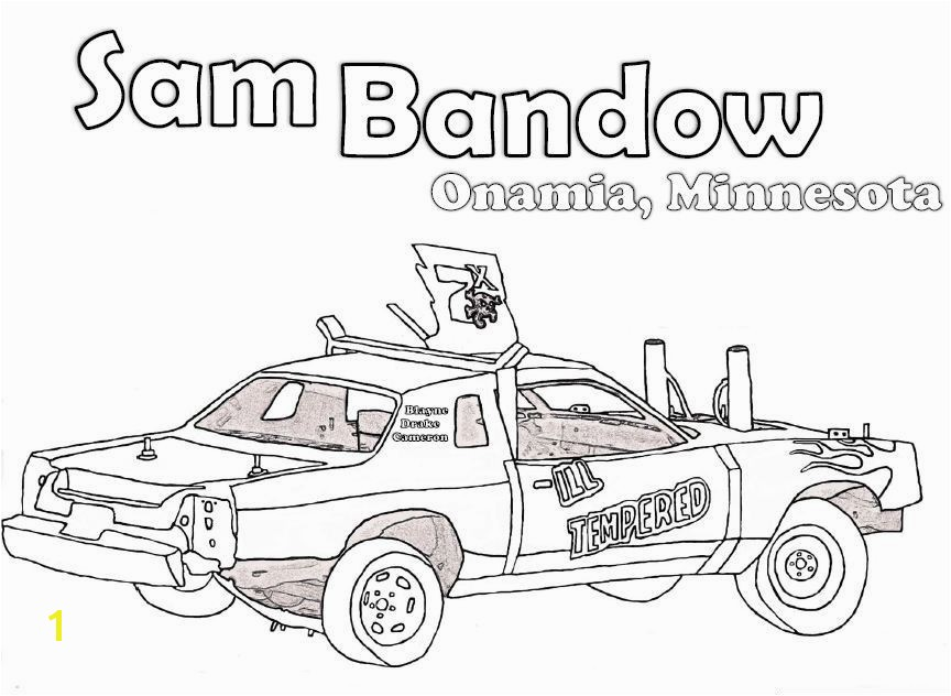 28 Collection of Derby Car Coloring Pages