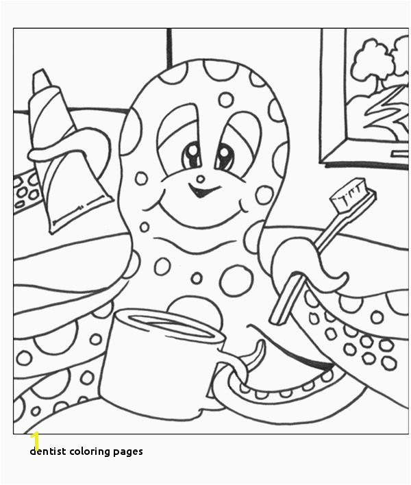 23 Dentist Coloring Pages