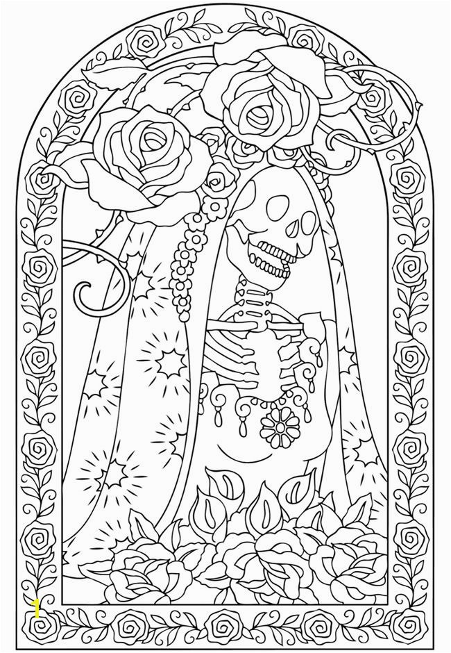 18awesome Day The Dead Adult Coloring Book More Image Ideas