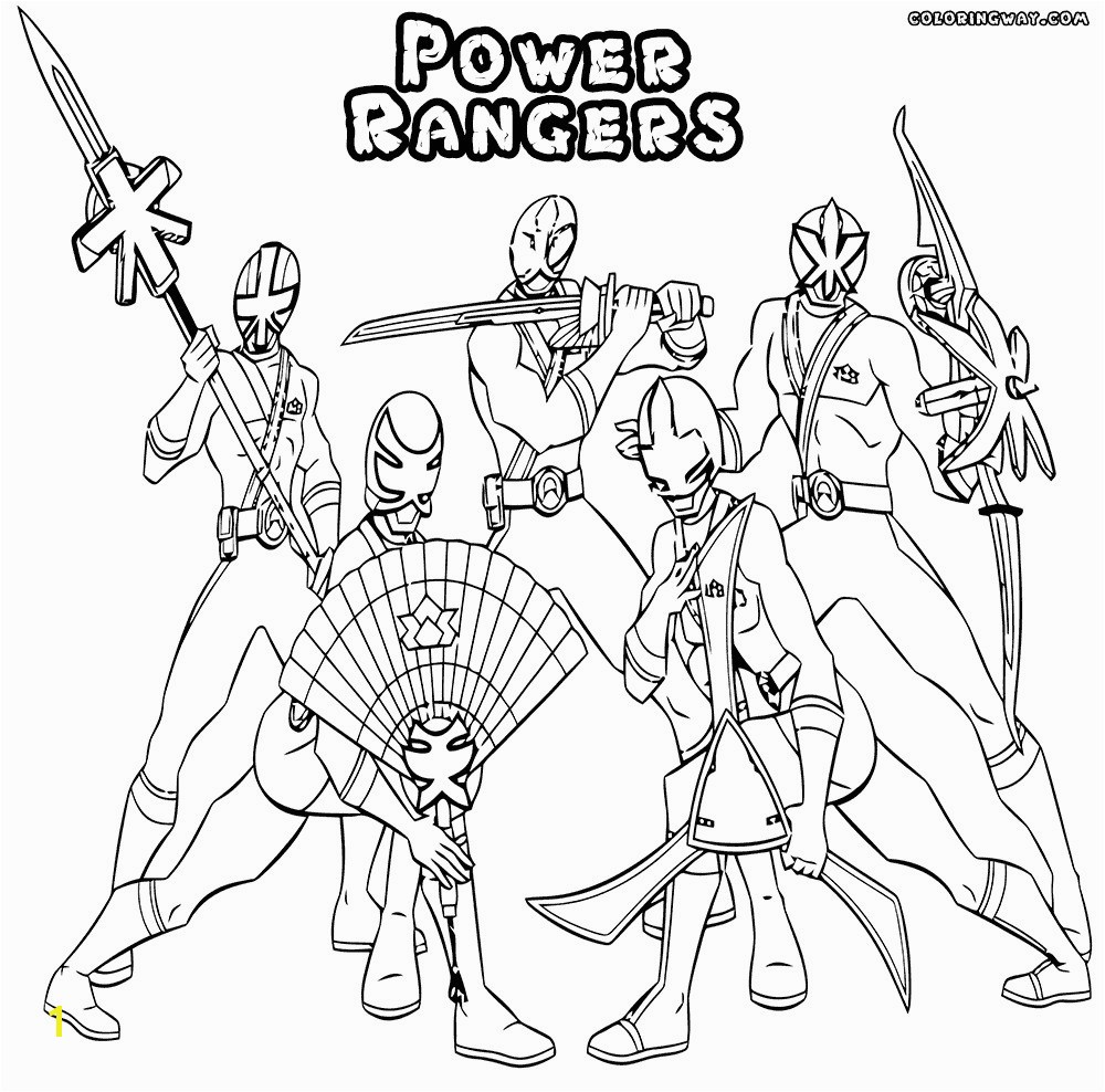 Power Rangers Printable Coloring Pages Power Ranger Coloring Pages Heathermarxgallery