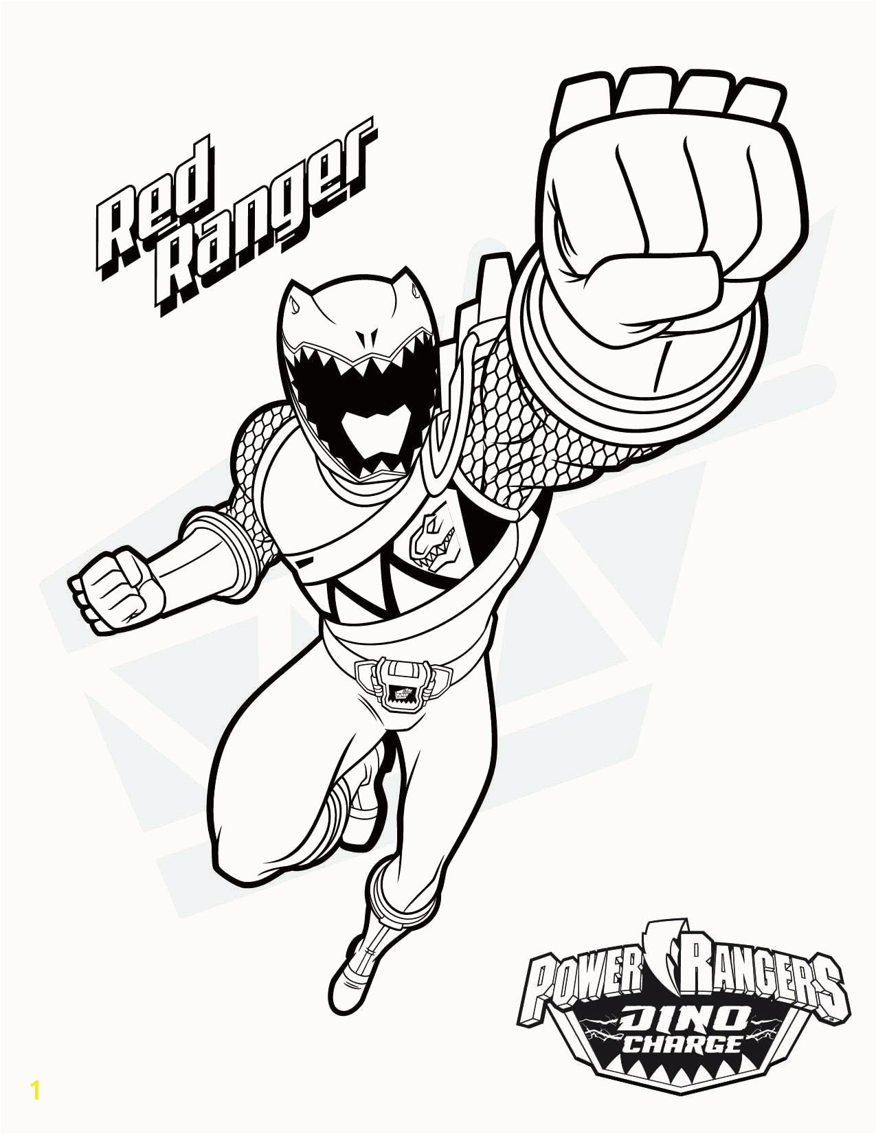 Dino Thunder Power Ranger Coloring Pages Mighty Morphin Power Rangers Coloring Pages Power Rangers Coloring