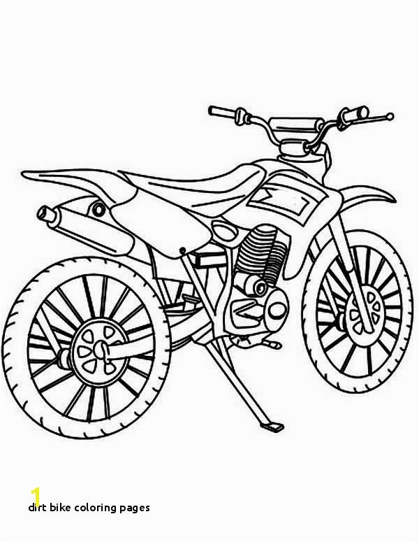 Dirt Bike Coloring Pages Best How to Draw Dirt Bike Coloring Page