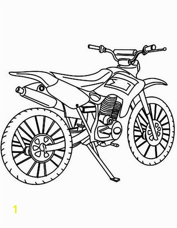 Dirt Bike Coloring Pages Best How to Draw Dirt Bike Coloring Page Dirt Bike