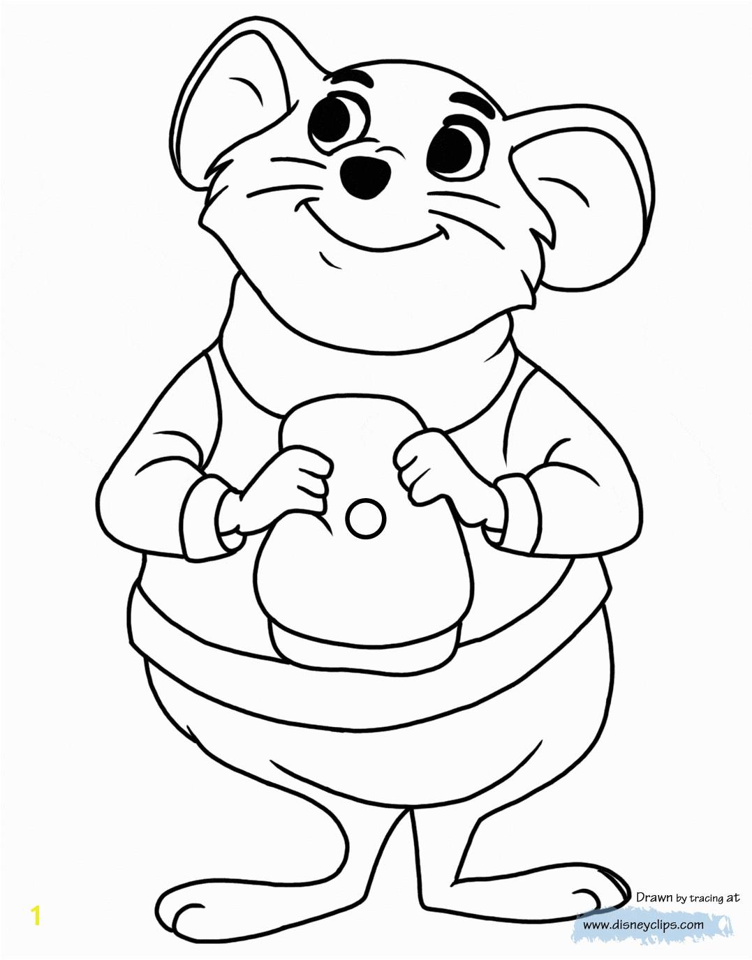 coloring page Bernard