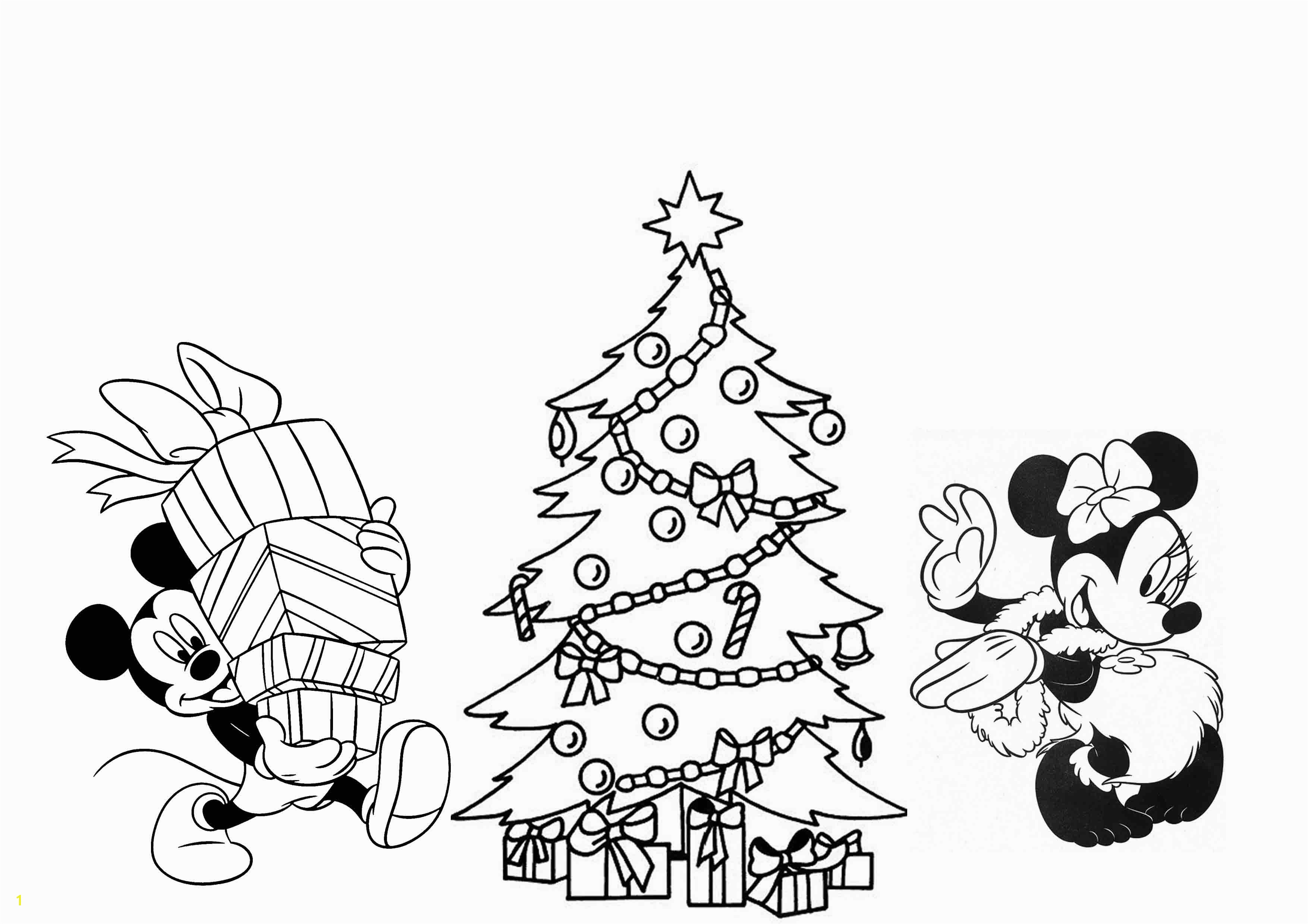 5 Disney Christmas Coloring Pages Merry Christmas