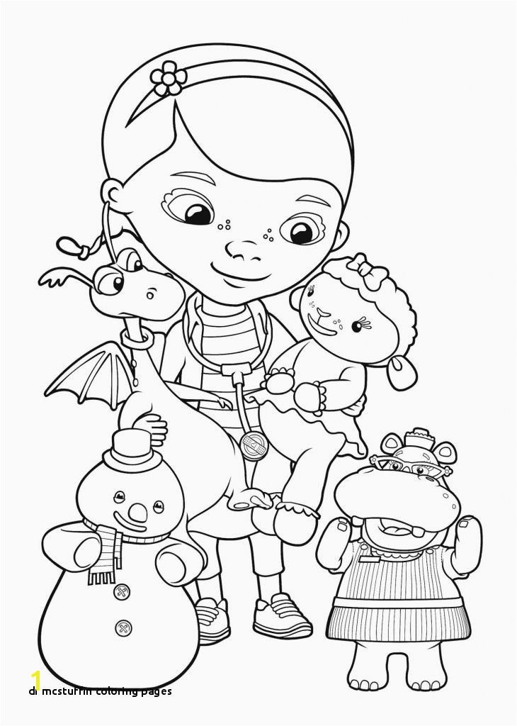 Doc Mcstuffin Coloring Pages 28 Dr Mcstuffin Coloring Pages