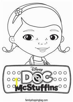 Need To Print From Coloring Book Table Favor Doc McStuffins Coloring Pages