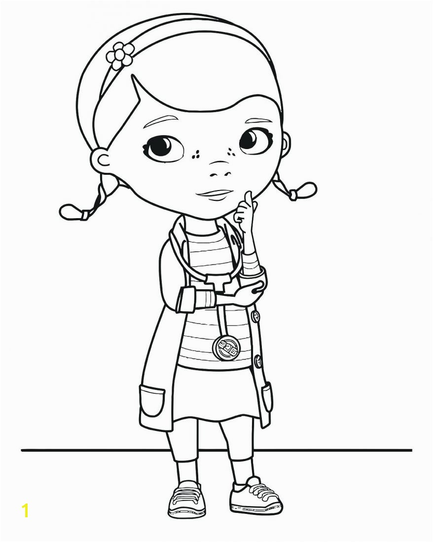 Doc Mcstuffins Coloring Pages
