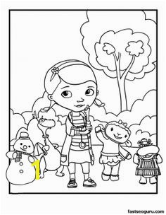 Printable Doc McStuffins Coloring Pages Printable Coloring Pages For Kids