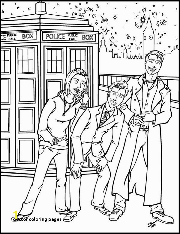 Printable Doctor Coloring Pages Doctor who Coloring Book Page by Majorwhoabutwhy Deviantart
