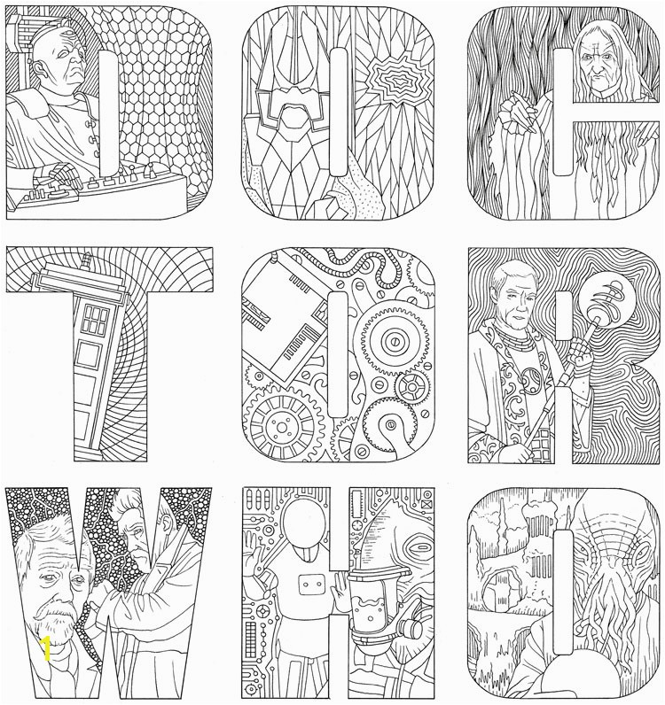 Dr Who Coloring Book Unique Outstanding Colouring In Books Image Collection Framing Coloring