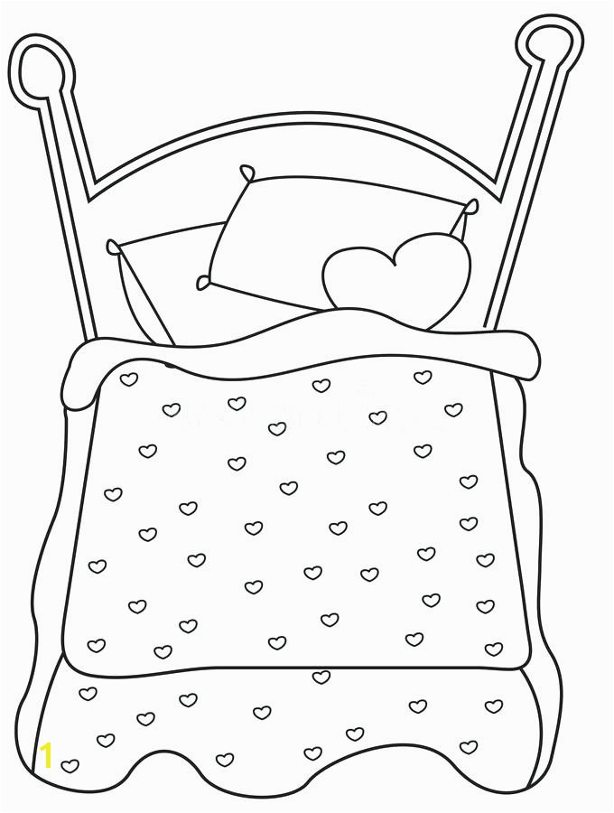 bed coloring page bed coloring page stock illustration illustration of ic cartoon bed coloring page bed coloring page