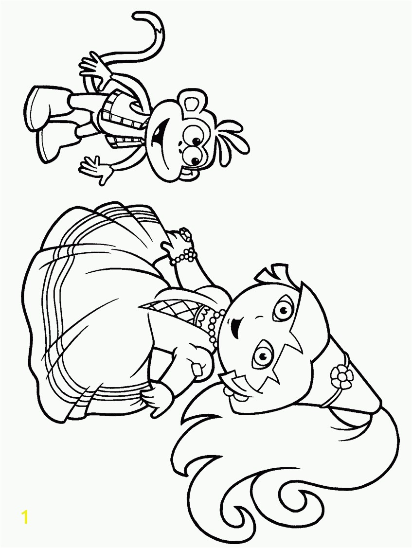 Dora Nick Jr Coloring Pages Disney Nick Jr Coloring Pages Coloring Home