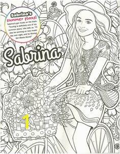 Sabrina carpenter coloring page