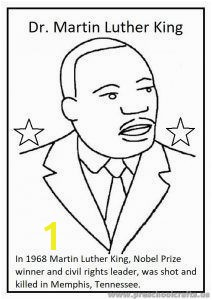 Martin Luther King Day Coloring Pages for Kids Preschool and Kindergarten