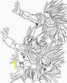 Dragon Ball Z Coloring