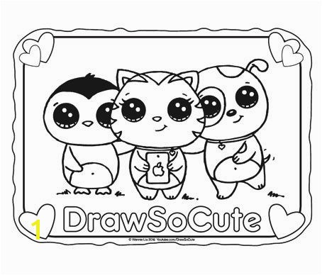 454x388 Hi Draw So Cute fans your FREE coloring pages of my Draw So