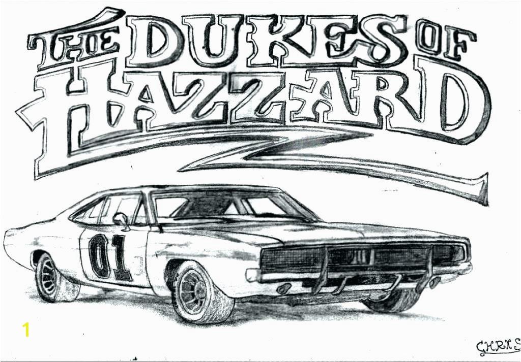 Dukes Hazzard Car Coloring Pages Dukes Coloring Pages General Lee Coloring Pages Dodge Car Dukes