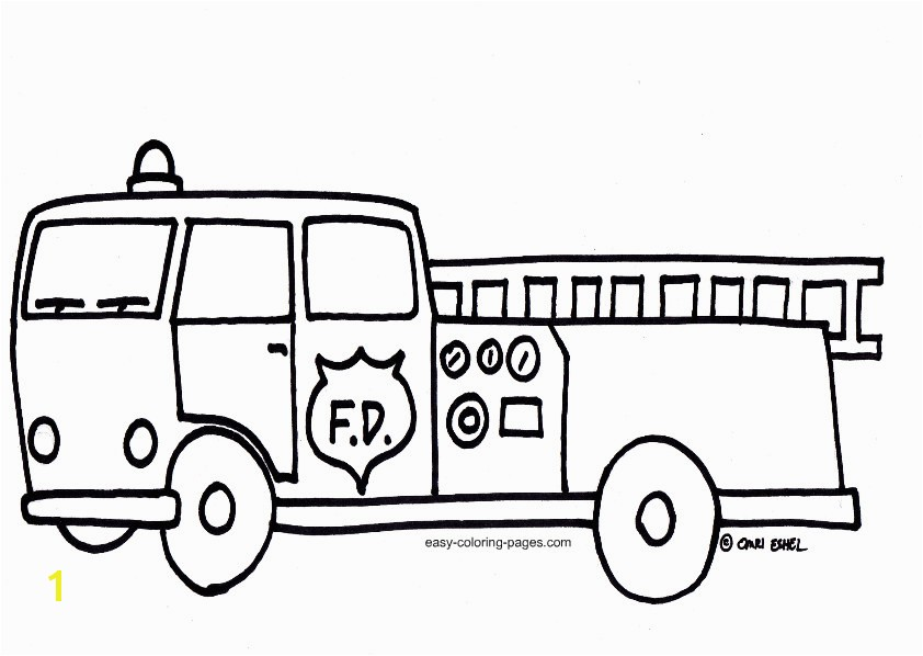 fire truck coloring page printable coloring pages