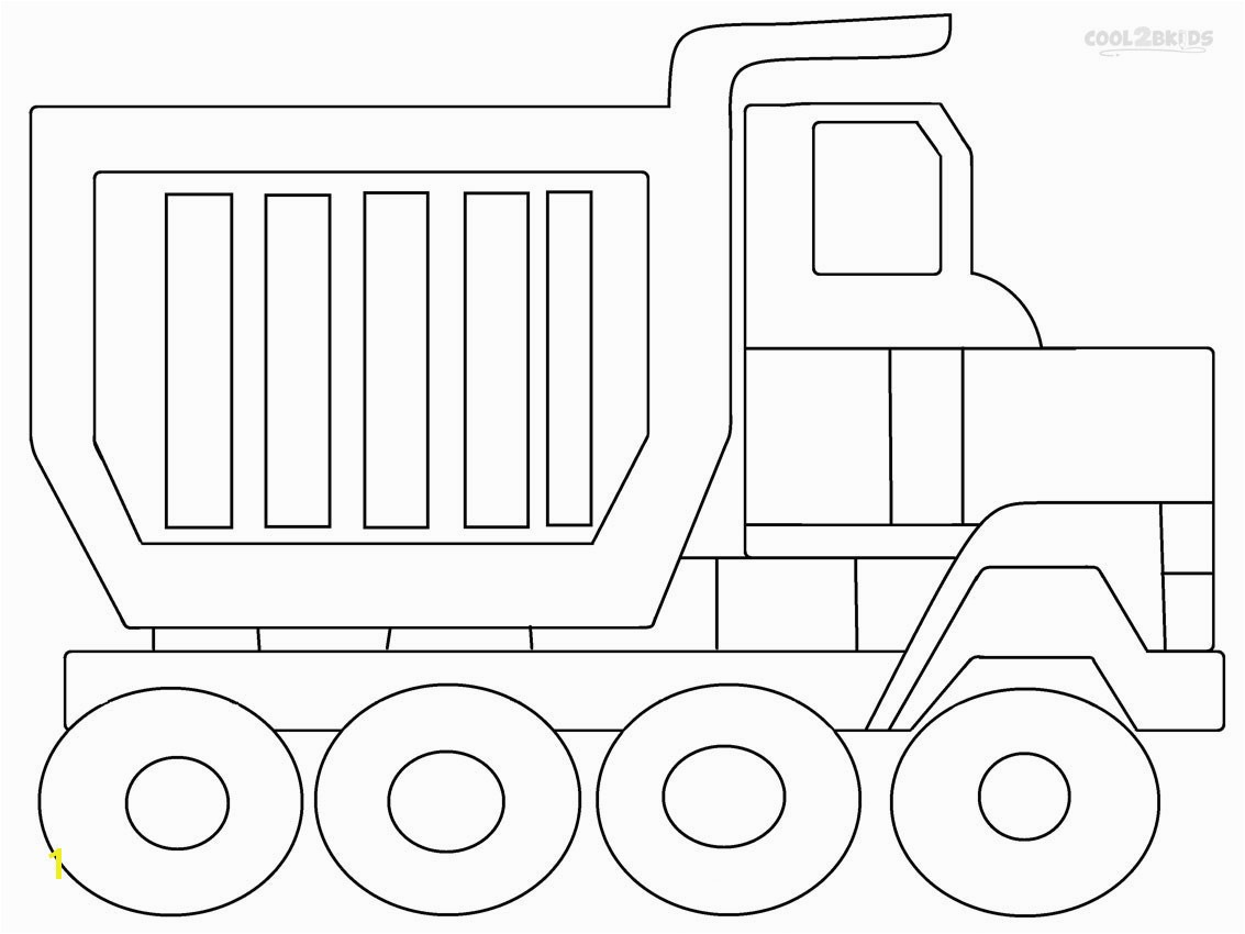 Dump Truck Coloring Pages Crafting Dump Truck Coloring 11 Tipper Full Od Sand Page Dump
