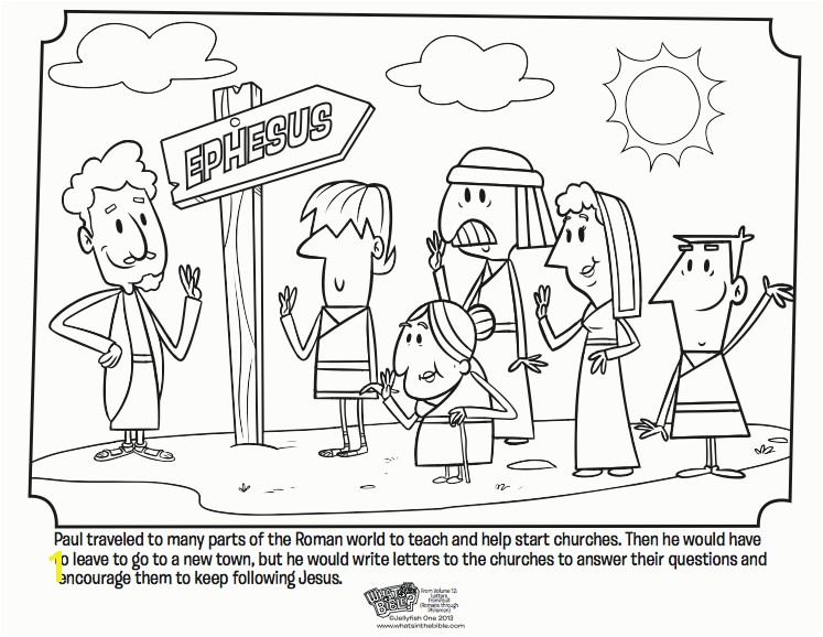 Early Church Coloring Page Paul and the Church Coloring Page Bible Lessons