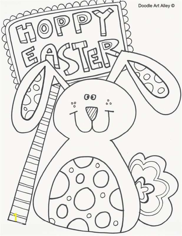 Free Easter Coloring Sheets Appealing Easter Coloring Pages Doodle Art Alley Portrait