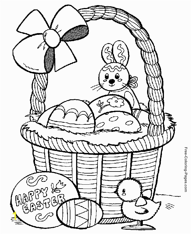 Fabulous Easter Coloring Pages To Print 49 For Your with Easter Coloring Pages To Print