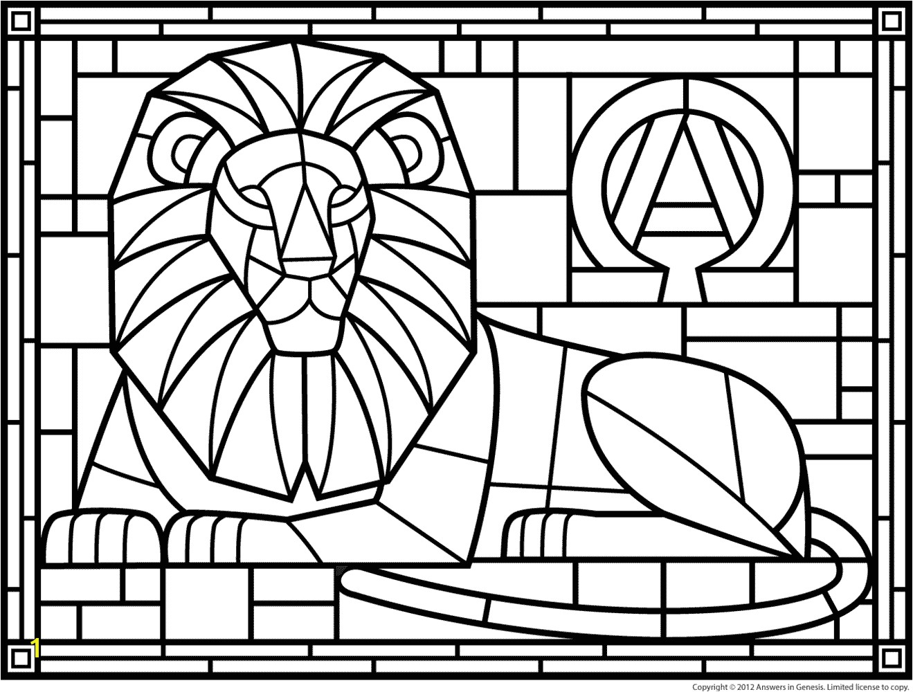 18luxury Stained Glass Coloring Books More Image Ideas