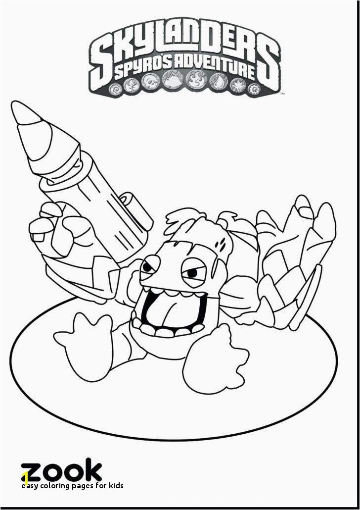 24 Easy Coloring Pages for Kids