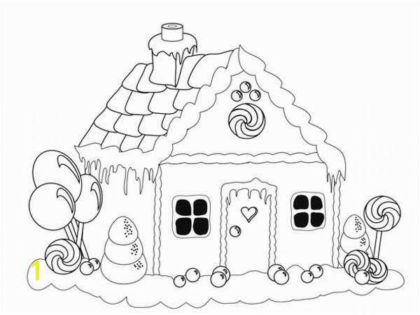Christmas Coloring Pages Gingerbread Girl Inspirational Gingerbread House Drawing at Getdrawings