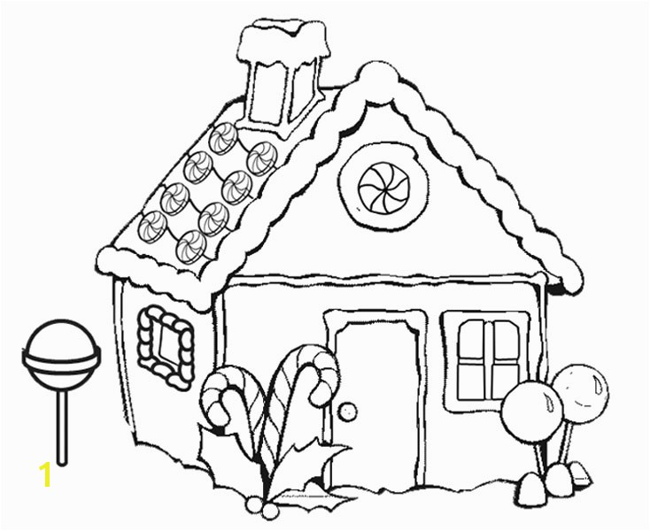 734x600 Gingerbread clipart colorful house