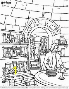 Easy Harry Potter Coloring Pages Harry Potter Coloring Pages