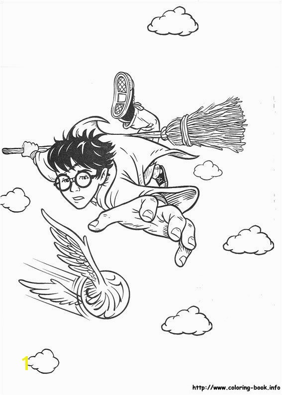Inspirational Harry Potter Coloring Pages