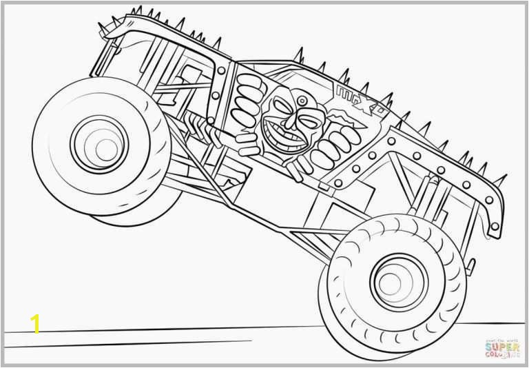 49 Lovely Pics Monster Truck Coloring Pages